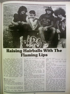 Flaming Lip Interview, Forced Exposure, p. I