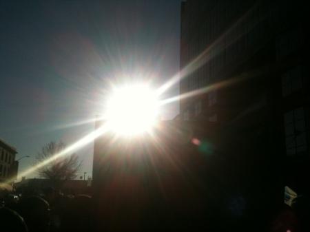 Idle No More Sun