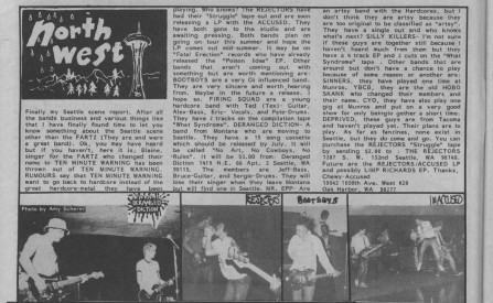 Northwest Scene Report July 83