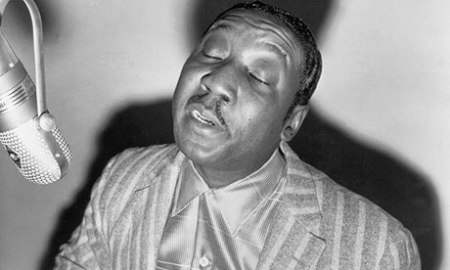 Blues Singer Muddy Waters In The Studio