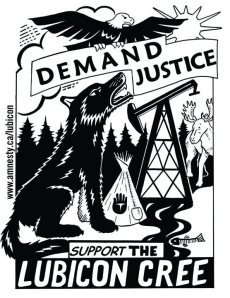 lubicon-cree-demand-justice-graphic